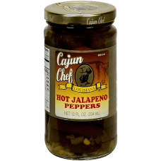 Cajun Chef Mexican Style Hot Jalapeno Peppers