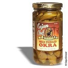 Cajun Chef Mild Pickled Okra 12 oz