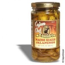 Cajun Chef Nacho Sliced Jalapeno Peppers