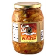 Cajun Chef Spicy Green Tomato Pickles