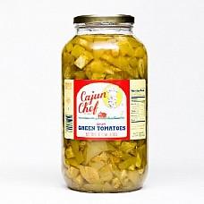 Cajun Chef Gallon Green Tomato Pickles